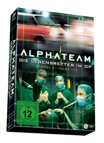 alphateam - Die Lebensretter im OP: Staffel 2, Folgen 1-13 [3 DVDs]