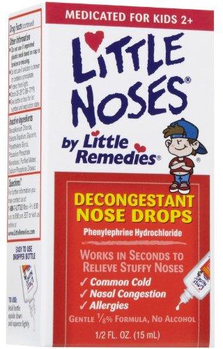Little Remedies Little Noses Decogestant Drops .5 oz