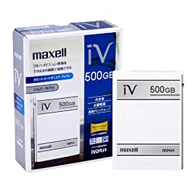 【クリックで詳細表示】maxell ハードディスクIVDR 容量500GB 日立薄型テレビ「Wooo」対応 「SAFIA」対応 M-VDRS500G.C: パソコン・周辺機器