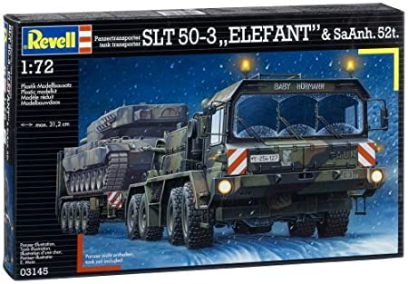 Revell - Maquette - Faun Slt 50-3 Elefant&Sattelhäng  - Echelle 1:72