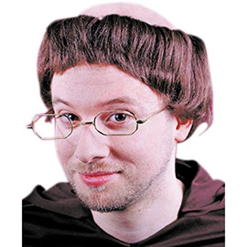 Fun World Mens Friar Wig