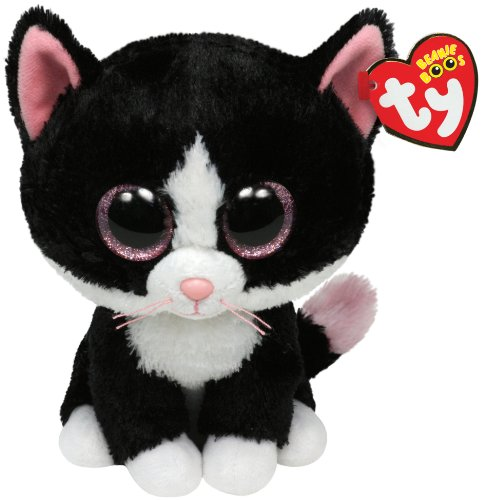 Ty Beanie Boo - Gato de peluche Peppers 15 cm