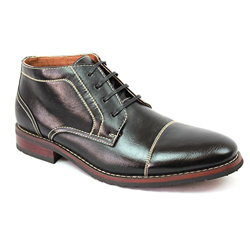 New Men's Cap Toe Ferro Aldo Dress Boots Lace up Modern 8060