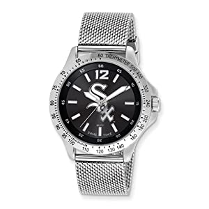 Mens MLB Chicago White Sox Cage Watch by Jewelry Adviser Mlb Watches
