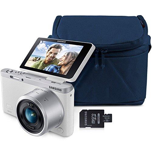 Samsung Nx Mini 20.5mp Smart Wi-fi Camera Bundle with 16gb Microsd Card and Premium Camera Case (Samsung Mini Sd Card 16gb compare prices)