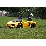 Smartwheels. Battery Operated 6 V Ride On Toy Car For Kids Lamborghini Remote Control. Ride N Ecar
