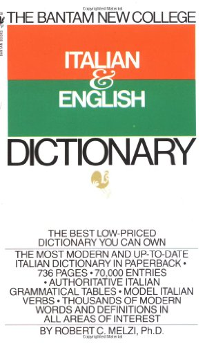 Bantam New College Italian/English Dictionary (Bantam New...