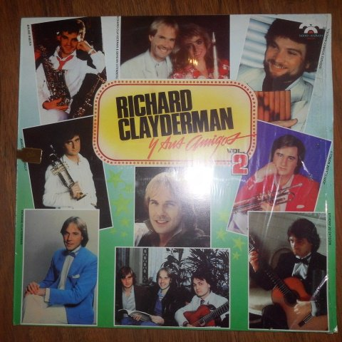 Richard Clayderman Y Sus Amigos Vol. 2 Vinyl Lp Record