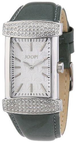 Joop JP100552F08 - Reloj analógico de cuarzo para mujer con correa de piel, color verde