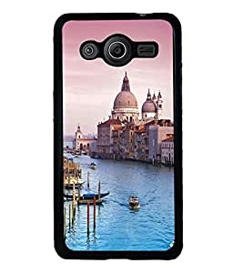 printtech Italy Sea Building Dome Back Case Cover for Samsung Galaxy Core Prime G360