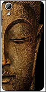 Snoogg Buddha Actual Designer Protective Back Case Cover For HTC Desire 626