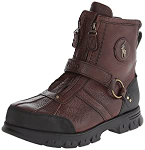 Polo Ralph Lauren Men's Conquest Hi III Boot,Briarwood,10 D US