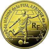 2010年 FIFA ワールドカップ南アフリカ大会 公式記念コイン フランス50ユーロ金貨【B】(CF1G90055) フランス国立造幣局