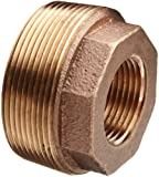 Lead Free Brass Pipe Fitting, Hex Bushing, Class 125, NPT Male X NPT Female