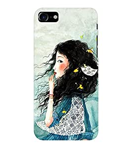 EPICCASE I'm waiting Mobile Back Case Cover For Apple iPhone 7 (Designer Case)