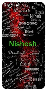 Nishesh (God Of Night (Moon)) Name & Sign Printed All over customize & Personalized!! Protective back cover for your Smart Phone : Moto G2 ( 2nd Gen )