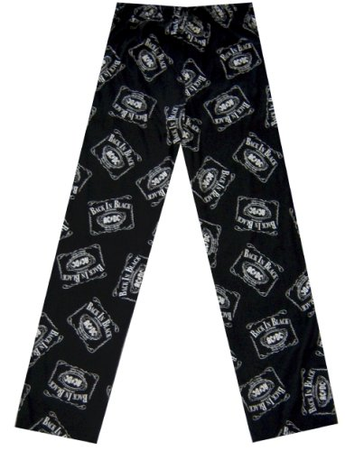 Buy AC/DC Back In Black Liquor Label Lounge Pants for men