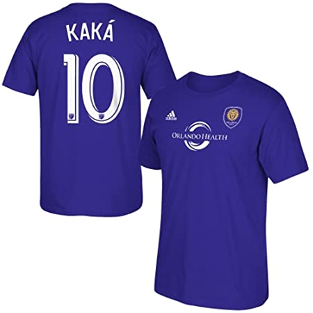 Kaka Orlando City Soccer Club Purple Jersey Name and