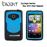 日本初上陸! 高耐衝撃性+防塵機能 Trident Case Cyclops for HTC EVO WiMAX Blue トライデントケース サイクロプス ブルー au ISW11HT ケース