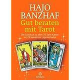 """Gut beraten mit Tarot: Set / Buch und 78 Rider Waite Tarotkartenvon """"Hajo Banzhaf"""""""