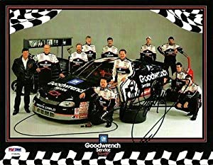 Dale Earnhardt Sr. Autographed Photograph - GM GOODWRENCH 8x10 COA - PSA DNA... by Sports Memorabilia