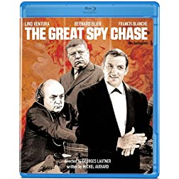 The Great Spy Chase [Blu-ray]