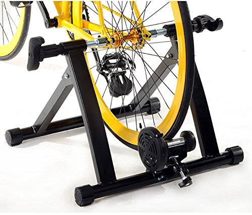 Ohuhu Magnet Steel Bike Bicycle Indoor Exercise Trainer Stand