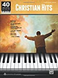 40 Sheet Music Bestsellers -- Christian Hits: Piano/Vocal/Guitar