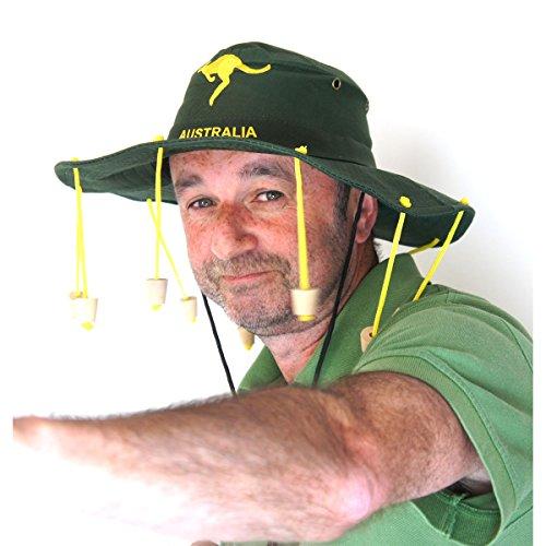 My Planet - Cappello australiano con 10 tappi di sughero taglia unica da adulto