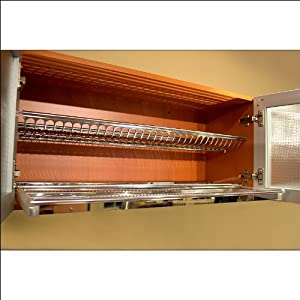 Stainless Steel Dish Drying Rack for the Cabinet: Amazon ...