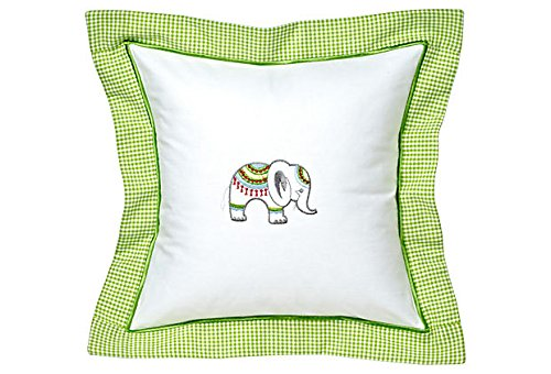 Jacaranda Living Baby Pillow,  Lucky Charm Elephant