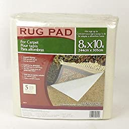 M-D Building Products Vantage Industries 8\' x 10\' Rug Pad For Carpet- 49019