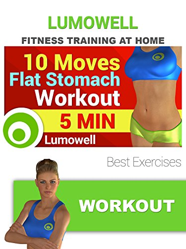 10 Moves Flat Stomach Workout
