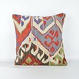 Decorative Pillows, KP727, Designer Pillows, Kilim pillow, Bohemian Decor, Wool Pillow, Bohemian Pillow, Accent Pillows, Throw Pillows