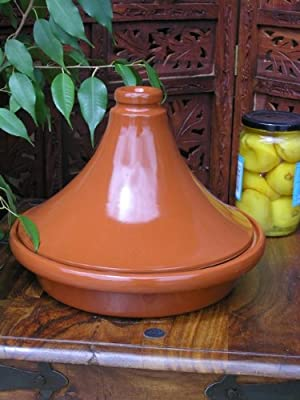 Large Versatile Tagine In Terracotta from Maroque