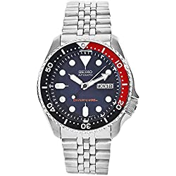 Seiko Men's SKX009K2 Diver's Automatic Stainless Steel Watch