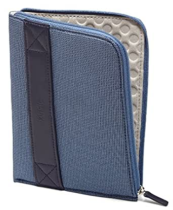 Funda con cremallera Amazon para Kindle, color azul (sirve para Kindle Paperwhite, Kindle y Kindle Touch)