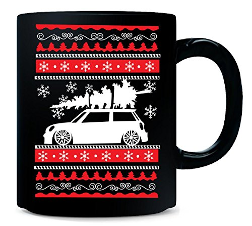 Christmas tree on car Ugly Sweater