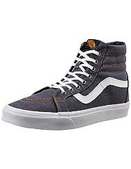 Vans Unisex SK8-Hi Reissue Canvas Sneakers - B0130NBJEO
