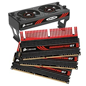 Corsair Dominator GT 12GB (3x4GB)  DDR3 2000 MHz (PC3 16000) Desktop Memory (CMT12GX3M3A2000C9)