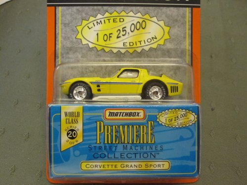 Corvette Grand Sport Matchbox Premiere Series 20 Street Machines Collection