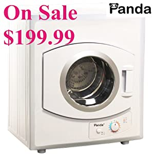 panda portable compact clothes dryer apartment size 110v