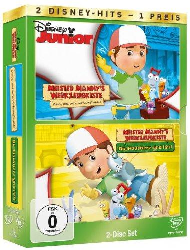 Meister Mannys Werkzeugkiste: Manny und seine Werkzeugfreunde / Die Haustiere sind los [2 DVDs]