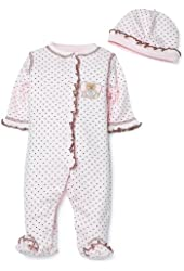 Little Me Mini Heart Layette Set, Pink, Newborn