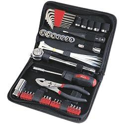 Apollo Precision Tools DT9774 56 Piece Auto Tool Kit Zippered Case