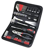 Apollo Precision Tools  DT9774   56 Piece Auto Tool Kit Zippered Case