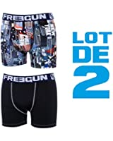 Freegun - lot de 2 boxers US Series - BUILDING