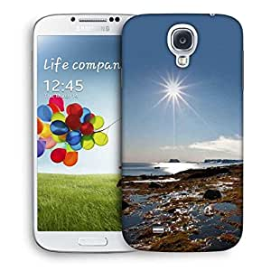 Snoogg Sunrise In The Sea Printed Protective Phone Back Case Cover For Samsung S4 / S IIII