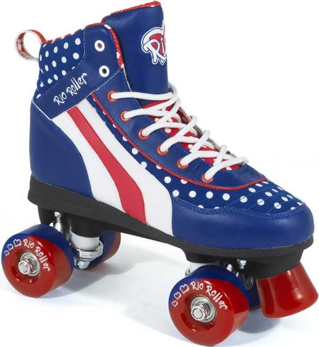Rio Roller Jive Ltd Edition Quad Roller Skates - Size UK6