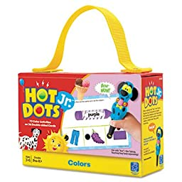 Hot DotsJr. Card Sets, Colors, Sold as 1 Each